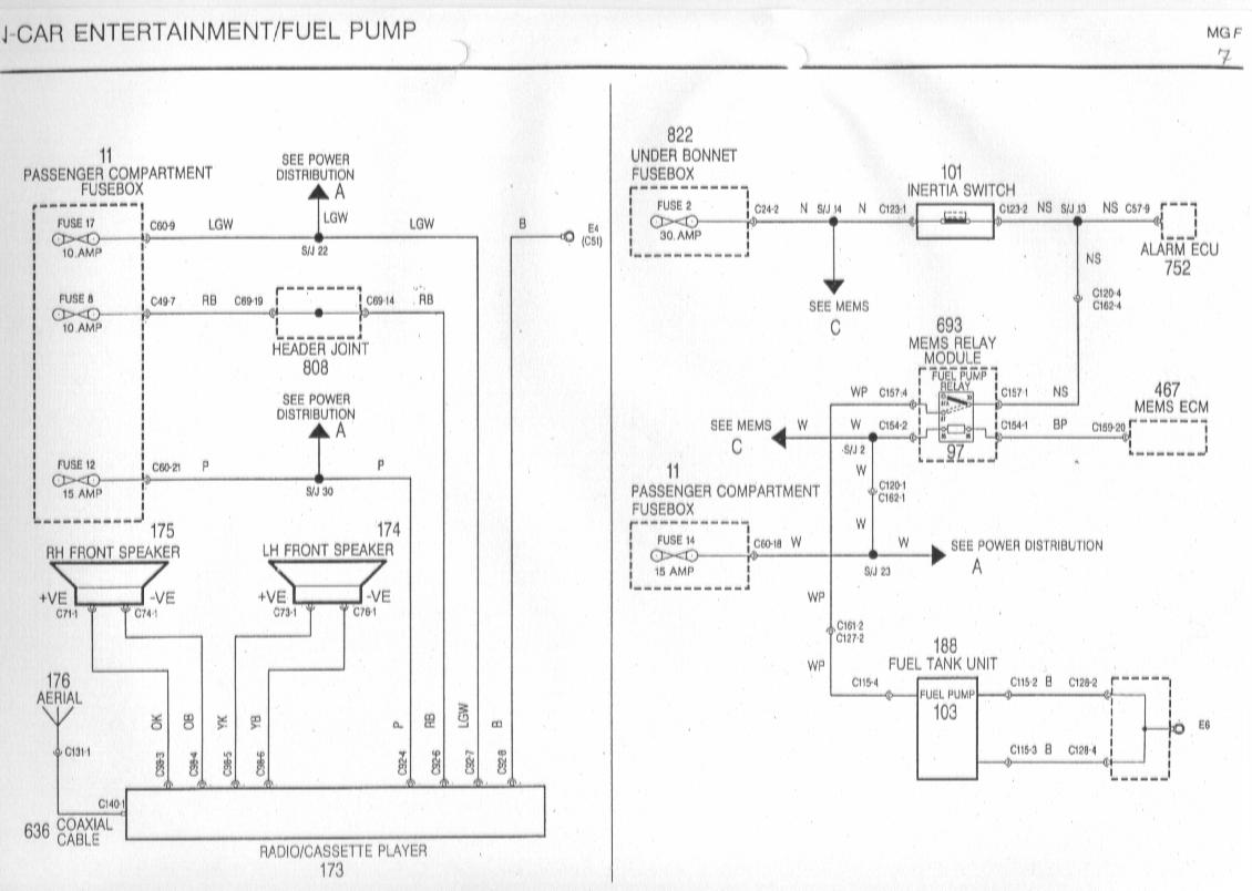 sb7 diagrams 1540980 mg zr wiring diagram mg zr horn wiring diagram  at gsmx.co
