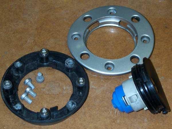 MGF MGTF filler cap repair, fuel cap