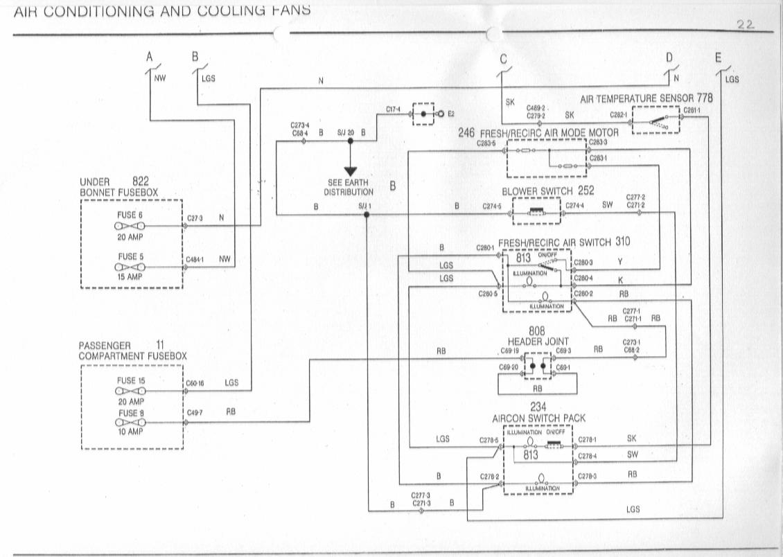 sb22 mgf schaltbilder inhalt wiring diagrams of the rover mgf mg wiring diagram at n-0.co